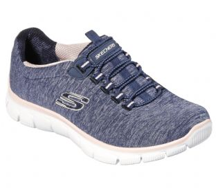 Skechers Womens 12808 NVCL Navy Coral Empire See Ya Trainers